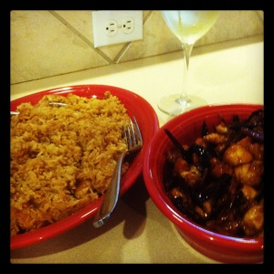 thai chickenand rice
