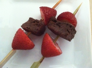 brownie skewer