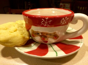 hot cocoa and cookies