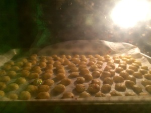 cheese in oven